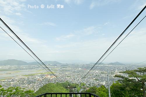 近江八幡 八幡山ロープ―ウェイ
