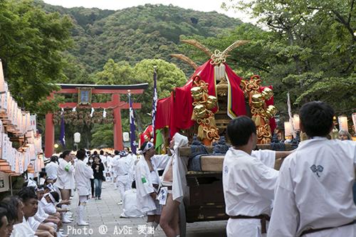 松尾大社 還幸祭