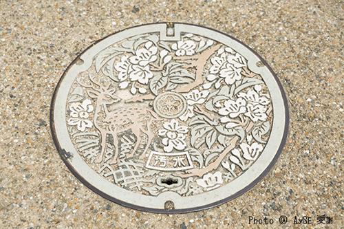 奈良 マンホール