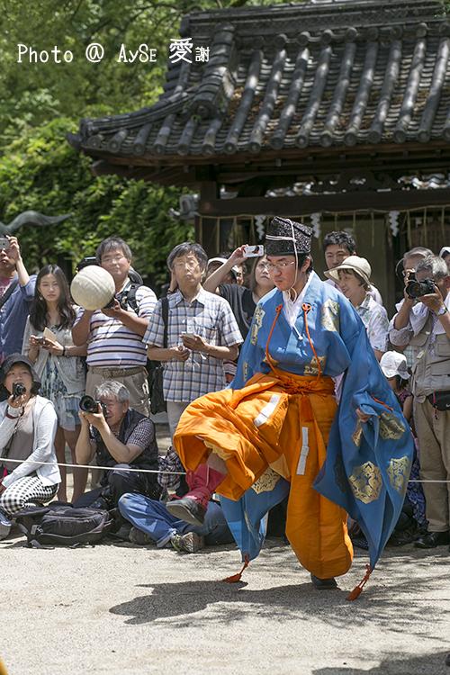 藤森神社 蹴鞠