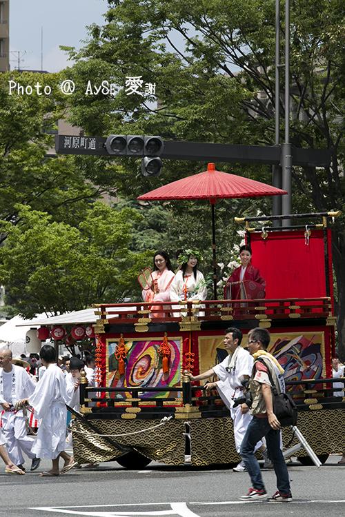 祇園祭 後祭山鉾巡行