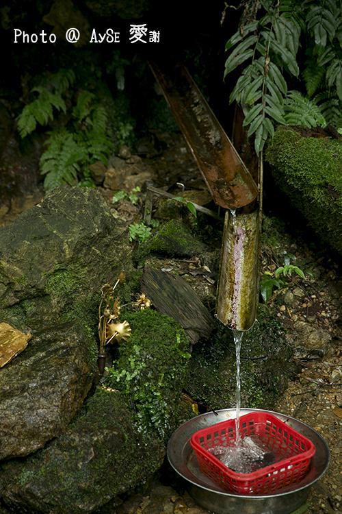愛宕神社 参道 お助け水