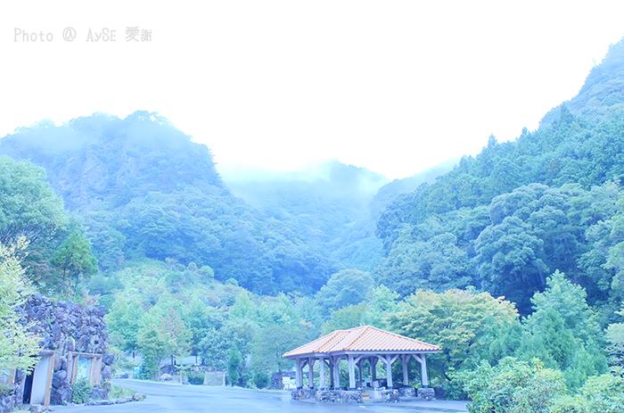 原始の不動滝 紀勢笠木渓谷