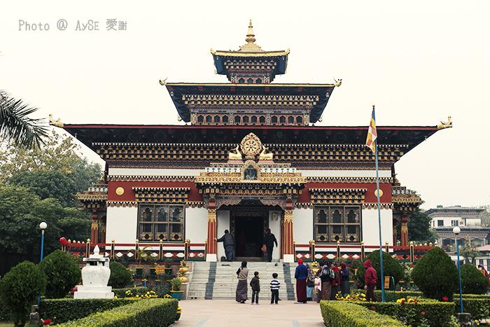 ブッダガヤ ブータン寺