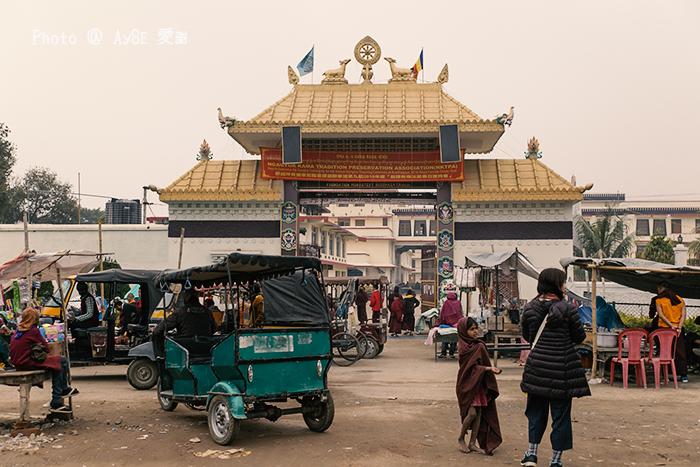 ブッダガヤ チベット寺院