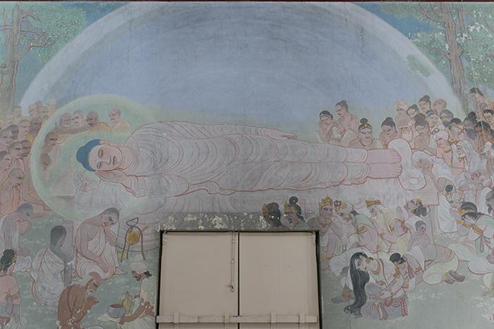 インド India ムルガンダクティ寺 法輪寺 Mulagandhakuti Vihar