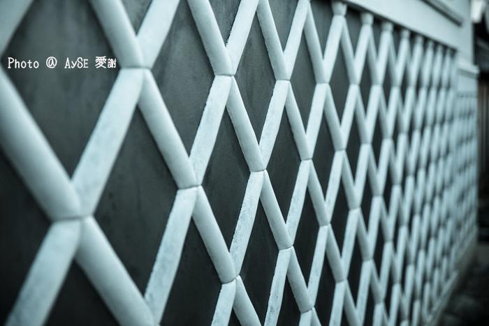 犬山城下町 なまこ壁