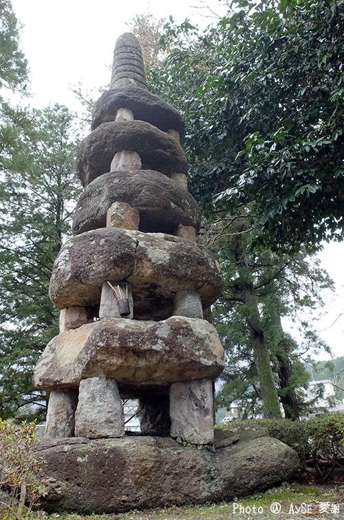 湯村温泉 五輪の石塔