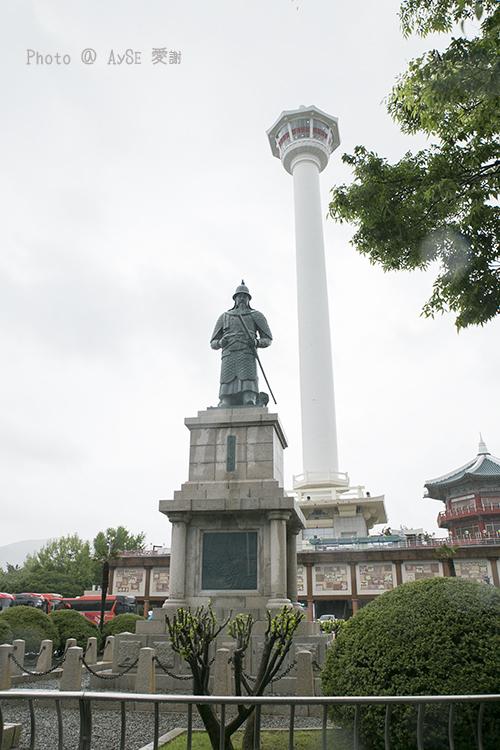李舜臣将軍 釜山タワー