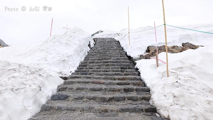 雪の大谷 アルペンルート